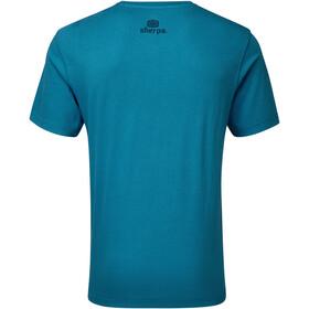 Sherpa Tarcho T-paita Miehet, raja blue